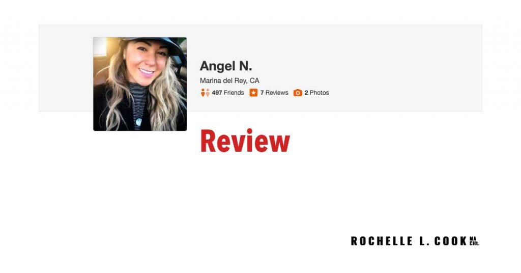 Save as Angel N Yelp Review of Rochelle L. Cook MA CHt.psd