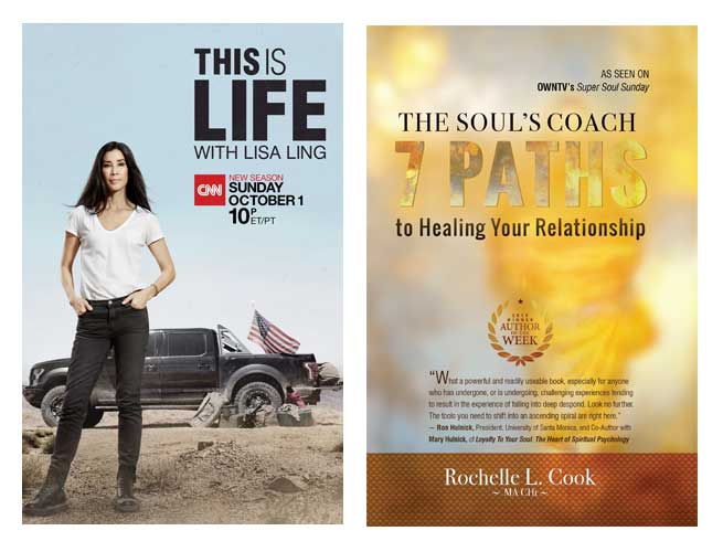 """Travel a New Path in 2021 with a Hypnotherapy Consultation. This is Life with Lisa Ling, endorses Rochelle L. Cook's book, """"The Soul's Coach"""""""